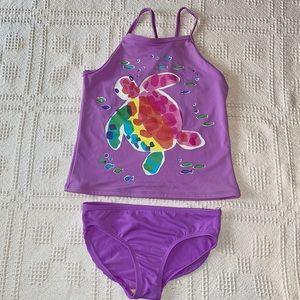 Girls Tankini Style Bikini